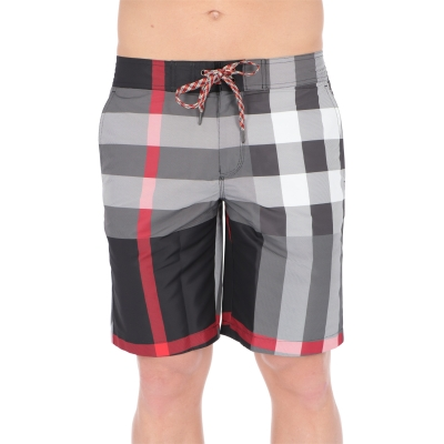 BURBERRY CHECK SWIM SHORTS