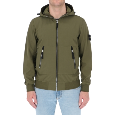 STONE ISLAND  LIGHT SOFT SHELL-R_E.DYE® TECHNOLOGY
