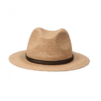 "BORSALINO ""ARGENTINA"" FINE RAFFIA CROCHET HAT"