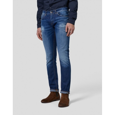 JEANS SKINNY CON STRAPPI GEORGE DONDUP