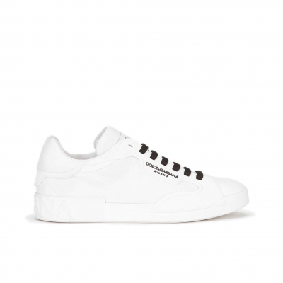 DOLCE & GABBANA NYLON AND RUBBER PORTOFINO SNEAKERS