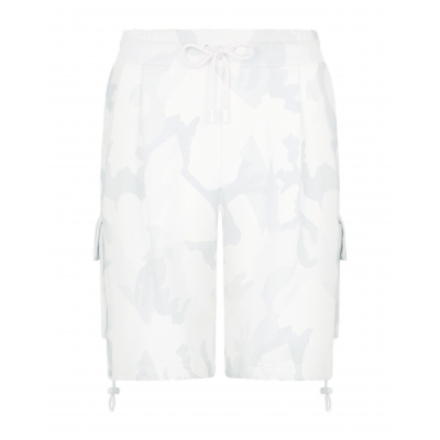 DOLCE & GABBANA JERSEY JOGGING SHORTS WITH DG LOGO