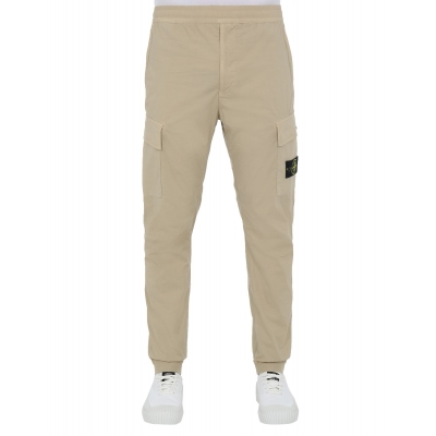 STONE ISLAND CARGO PANTS IN STRECH COTTON