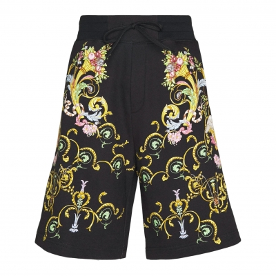 VERSACE JEANS COUTURE HEAVY PANEL TUILLEREIS SHORTS