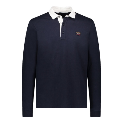 ORGANIC COTTON POLO WITH ICONIC BADGE