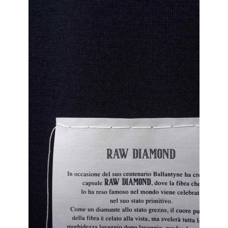 RAW DIAMOND - MAGLIA GIROCOLLO IN CASHMERE