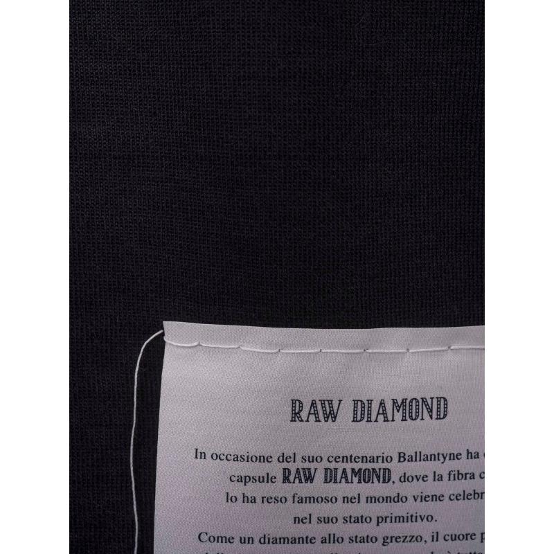 RAW DIAMOND - ROUND NECK CASHMERE SWEATER
