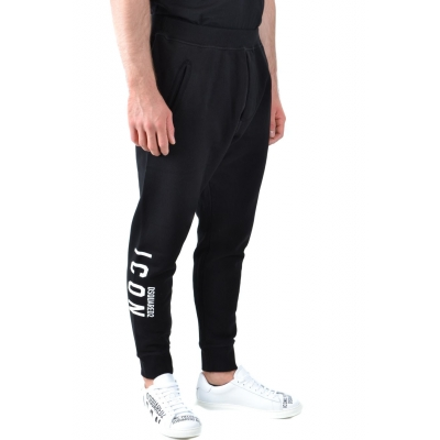 PANTALONE JOGGER IN COTONE DSQUARED2 ICON
