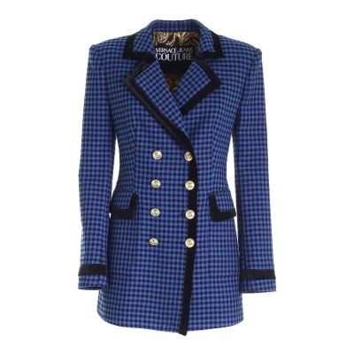 DOUBLE BREASTED JACKET WITH DECORATIVE BUTTONS
