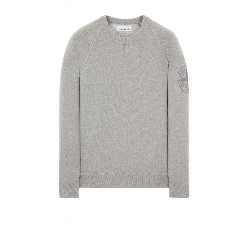 STONE ISLAND GEELONG WOOL WITH EMBROIDERY