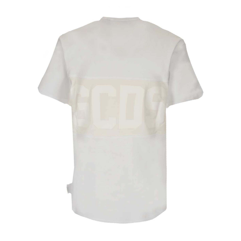T-SHIRT WITH NEW GCDS LOGO
