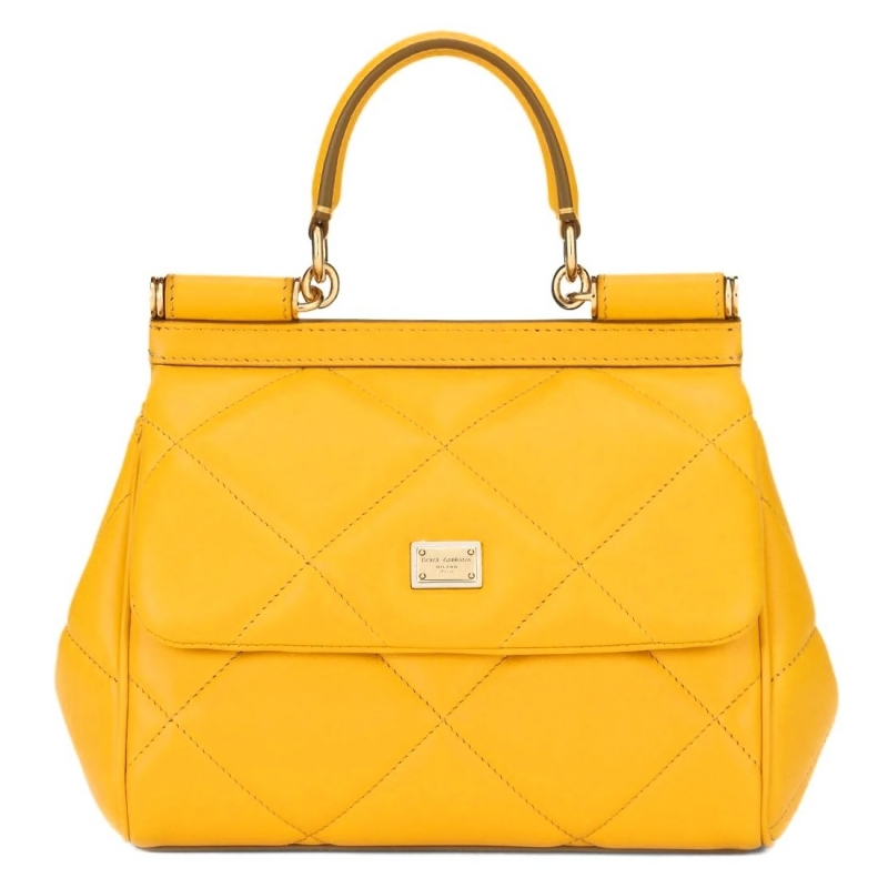ARIA CALFSKIN QUILTED LEATHER SICILY BAG