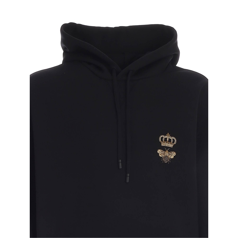 JERSEY HOODIE WITH EMBROIDERY