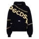 CHAIN-LINK COTTON HOODIE