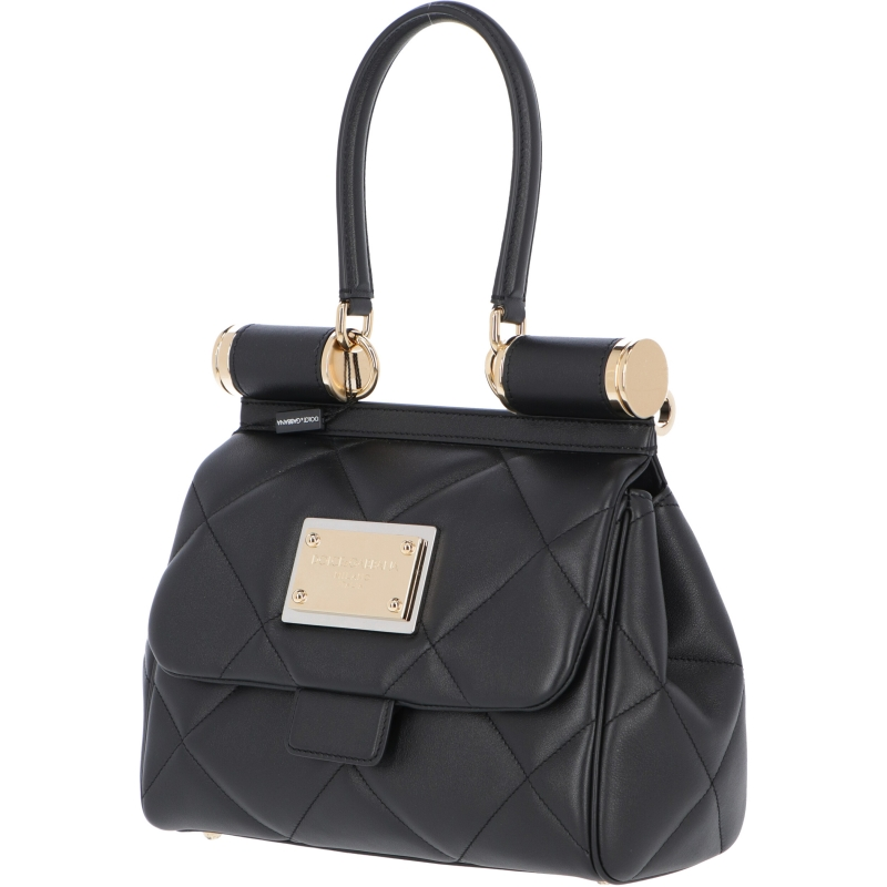 SICILY 90'S BAG MADE OF ARIA CALFSKIN LEATHER