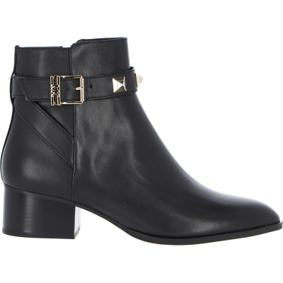 BRITTON LEATHER ANKLE BOOTS WITH STUDS