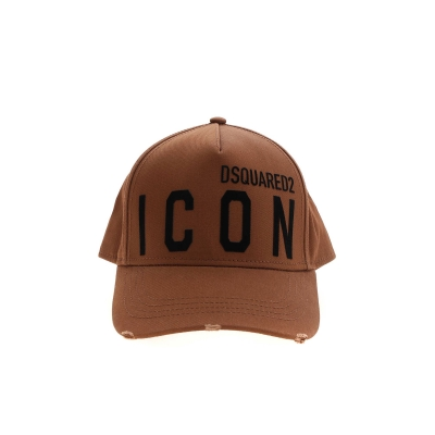 BE ICON BROWN CAP