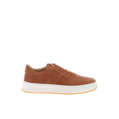 LIGHT BROWN LETHER SNEAKERS