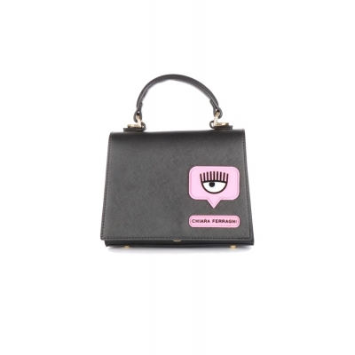 FAUX LEATHER CROSSBODY WITH LOGO